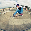 Skateboarder Venice Beach