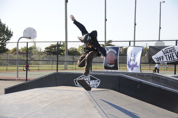 Van's Off the wall competition at Tanner Park Copaige