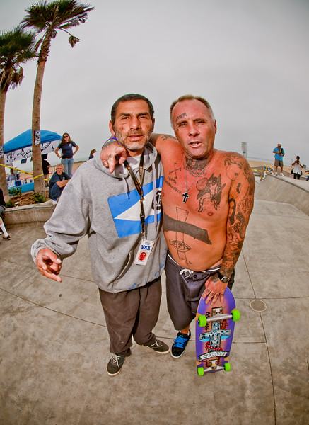 "Jesse ""The Mess"" Martinez, Jay Adams"