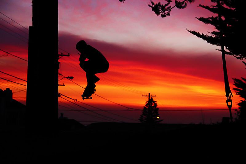 Sunset Sailin'