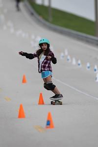 Maggie-Skateboarding