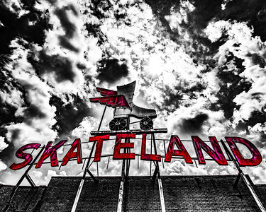 Skateland 8x10 or 16x20 For This Print