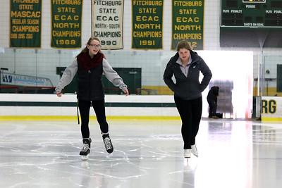 Skating at Wallace Civic Center