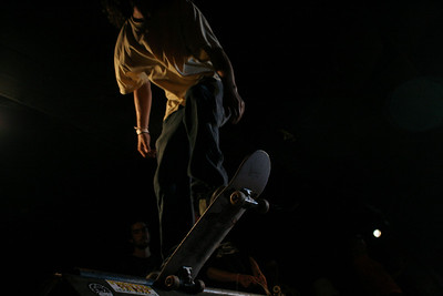 The headless skater ready to drop in. I lucked out with the lighting on this one