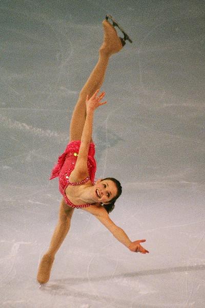 Sasha Cohen Ice Chips Boston 2007