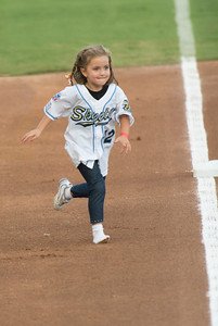 Sugar Land Skeeters Shoeless BaseRunner