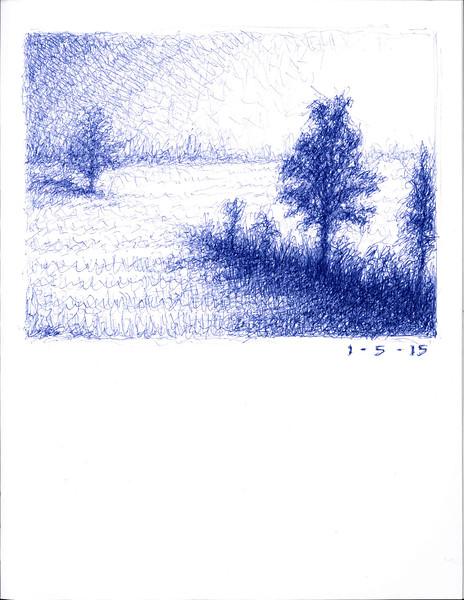meditation landscape 1/5/2015