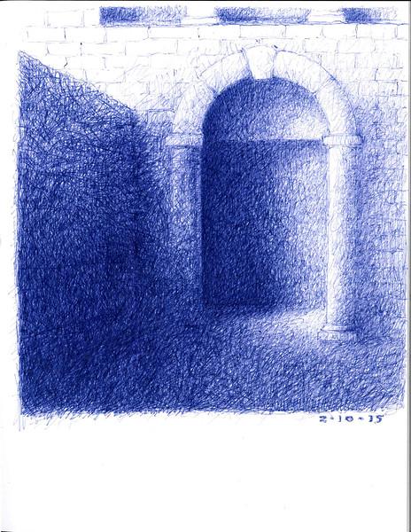 meditation archway 2/10/2015