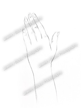 Hand Sketch_with Ring_Opened