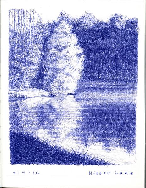 hidden lake 9/4/16