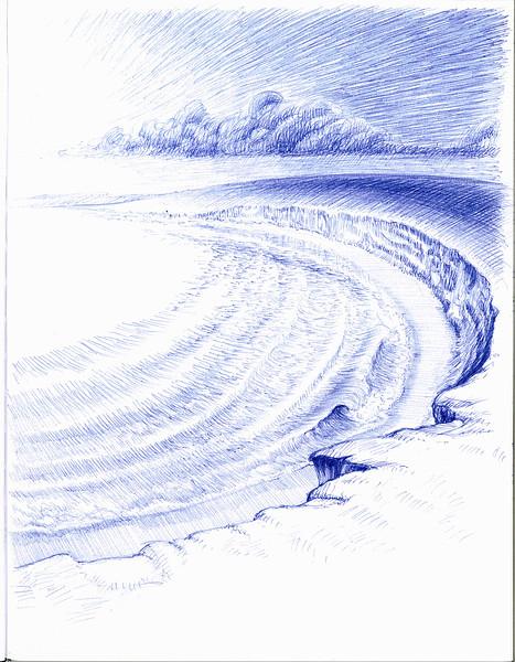 meditation cliff 8/28/2014