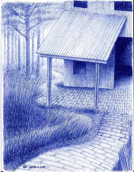 meditation cabin 9/24/2014