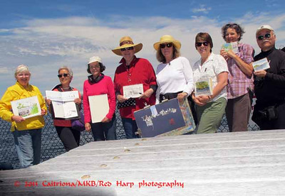 Friday Sketchers Kate, Tina, Nilda, Frances, Susan, Peggy G, Natalie, Gordon