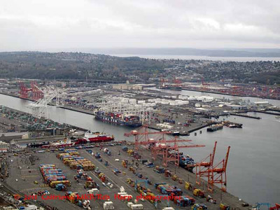 Harbor as seen from Columbia Center