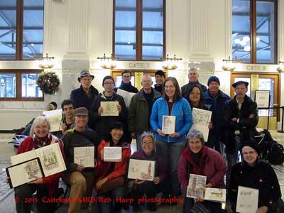 Seattle Urban Sketchers group