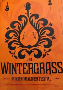 Wintergrass logo on program