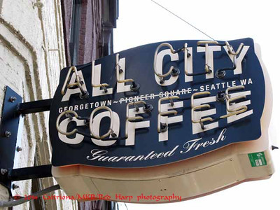 All City Coffee, where we met for the sketch outing.