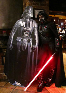Darth Malice with the boss