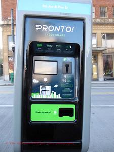 new Pronto rental bikes