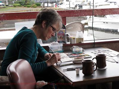 Pat Sketching