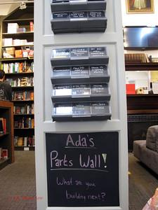 Parts wall