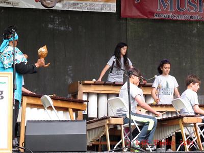 Spruce Street Marimba Band - 5th graders!