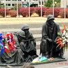 Wreath laying at the memorial for the Korean War in memorial for the anniversary of the end of the war