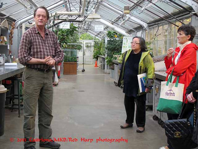 Doug Ewing, the manager of the greenhouse, talks to us about the place and the plants.