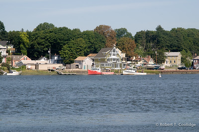 Lobsterman's House, Water Side with Match Photo