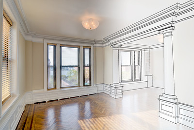 NYC Apartment Composite Model & Photo