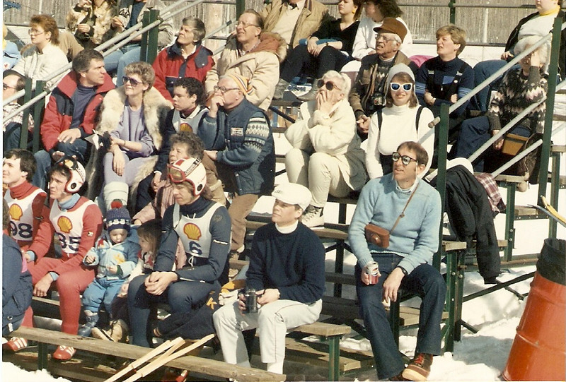 SPSC spectators at the 1986 Molson Cup in Thunder Bay