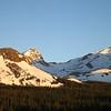 Sunrise over Mount Toll and Audubon