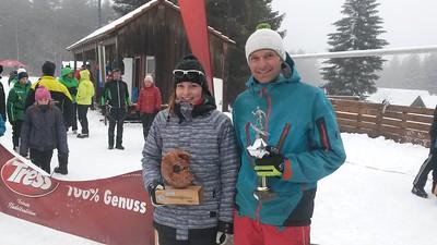 Svenja Eberhardt und Matthias Mettang