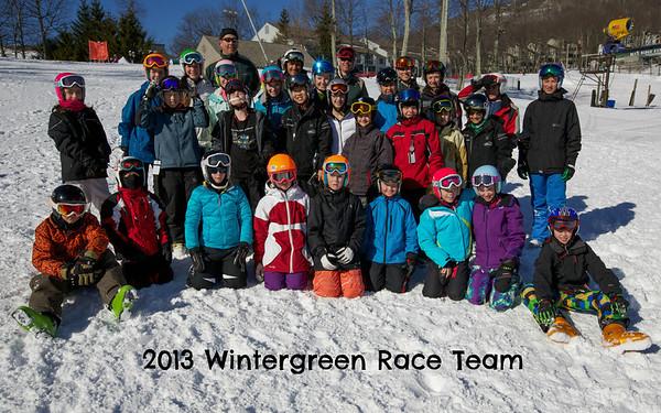 2013 Wintergreen Team Photos