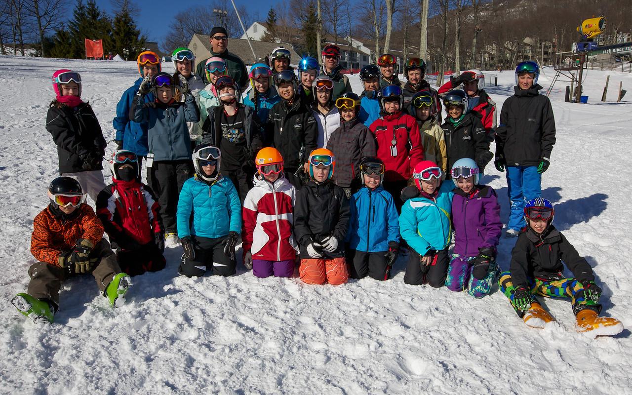 2013 Wintergreen Race Team