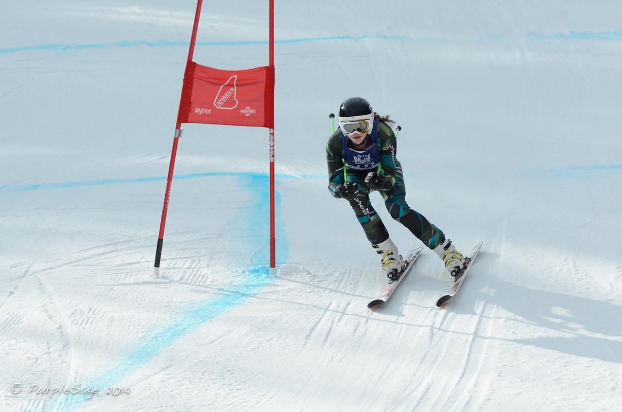 Sarah Wyly- U18 Southern Alpine Skiing Association Champion