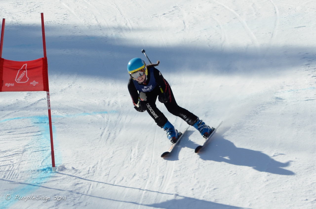 Jenna Wyly- U16 Southern Alpine Skiing Association