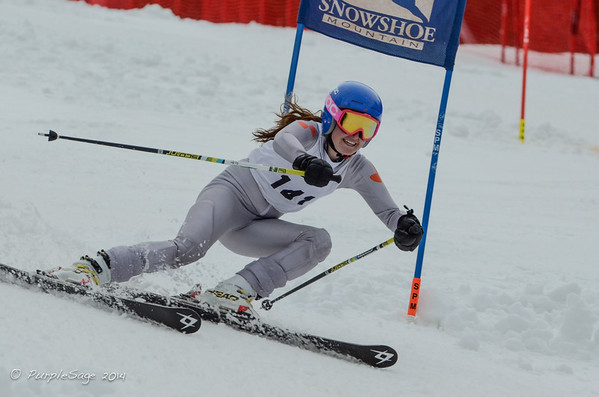 Snowshoe Mountain GS Ski Race