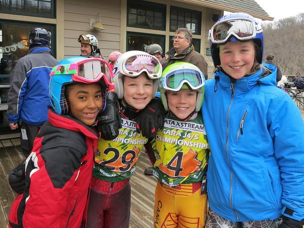 Girls J4 J5 Giant Slalom Race