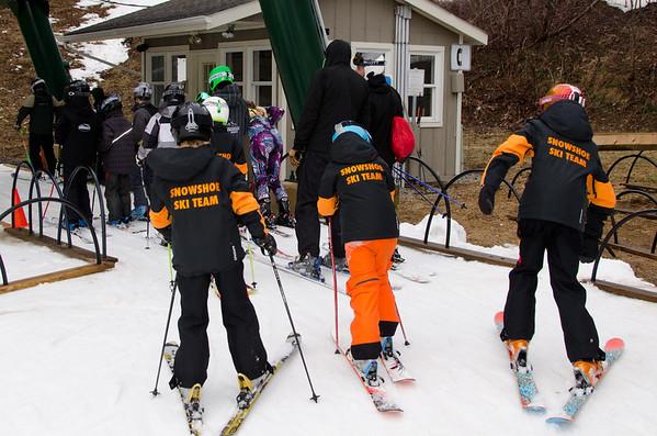 Boys J4 J5 Giant Slalom Race