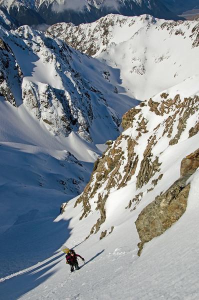 Climbing Mt Greenlaw
