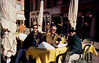 Mike, Peter and Hank--breakfast in Verona