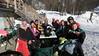 Apres ski Friday - Loren, Pat, Steve, Julie, Tom, Rick, Christina, Dave, Daisy & Karen