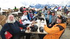 Wednesday Apres-Ski - Loren, Rick, Julie, Pat, Tom, Karen, Christina, Daisy & Steve