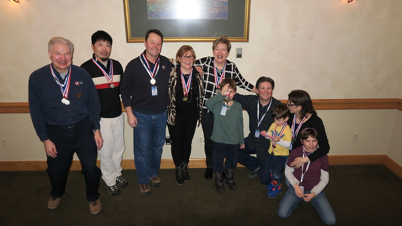 Pentagon Race Winners:  Dave, Peter L, Peter R, Nina, Christina, John, George, (William), Jessica & Georgie