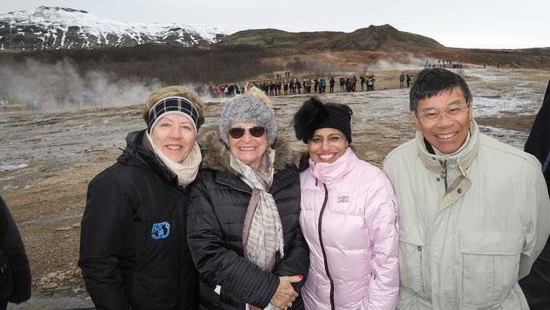Christina, Helen, Daisy & Chi