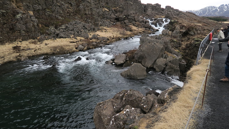 Thingvillir National Park - Iceland is the only place where the Mid-Atlantic Ridge, separating the North American from the European Tectonic Plates - appears on land.