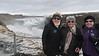 Christina, Helen & Judy at Gullfoss