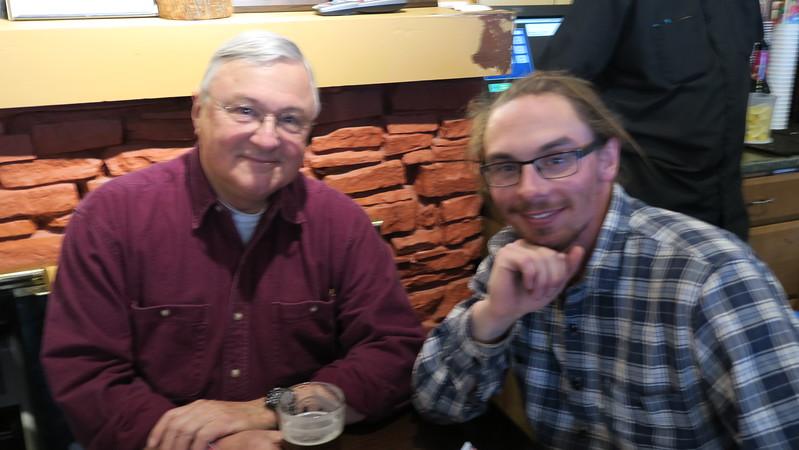 Doug & grandson Ridge