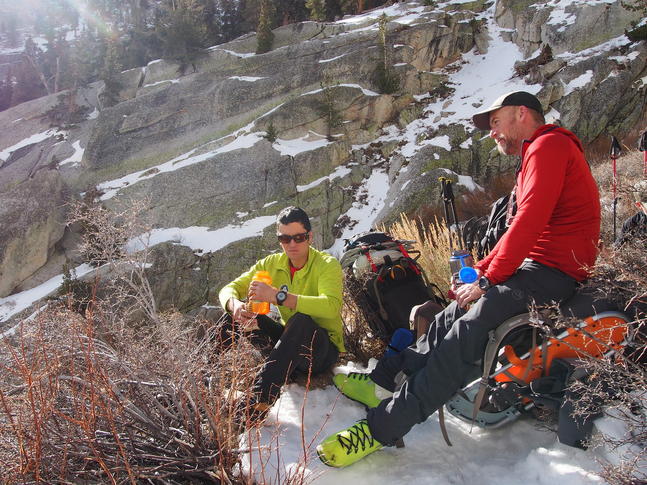 2015 Sierra Winter Mountaineering Mike McBride